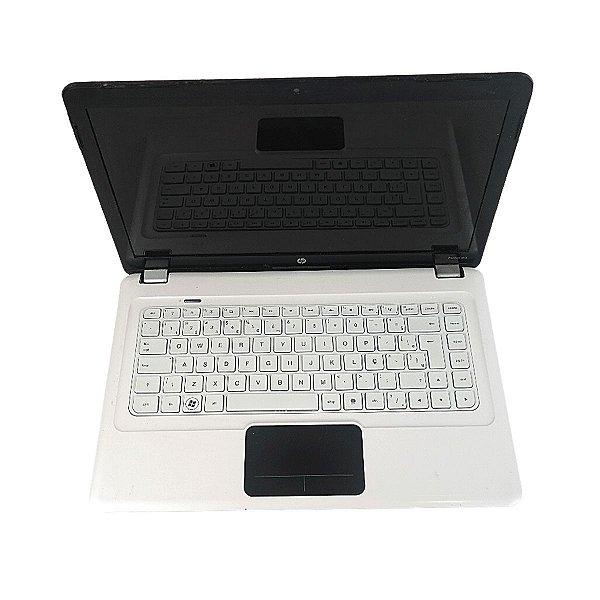 Notebook menor preço HP Branco i5 4GB HD 500GB Win 10 Hoje