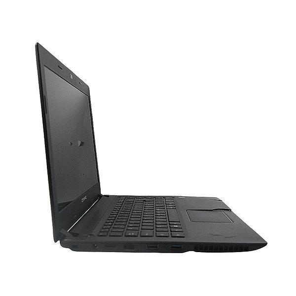 Notebook Compaq Presario CQ-23 trincado no gabinete