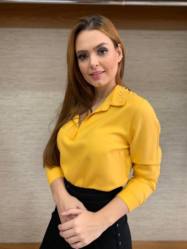 Camisa amarela