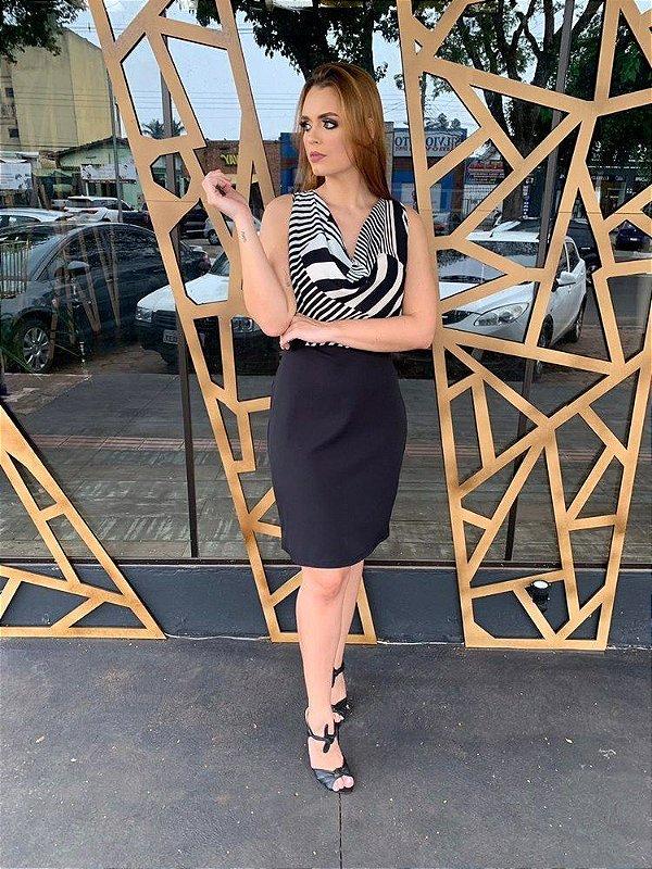 Vestido curto Maria Valentina