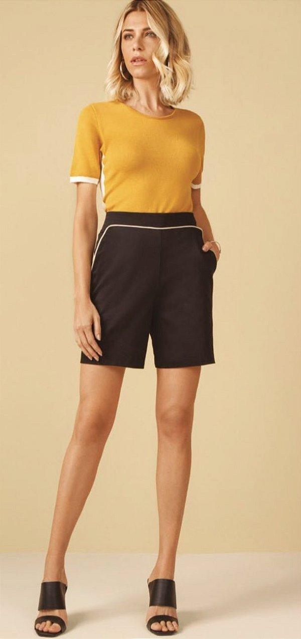 Shorts em Alfaiataria