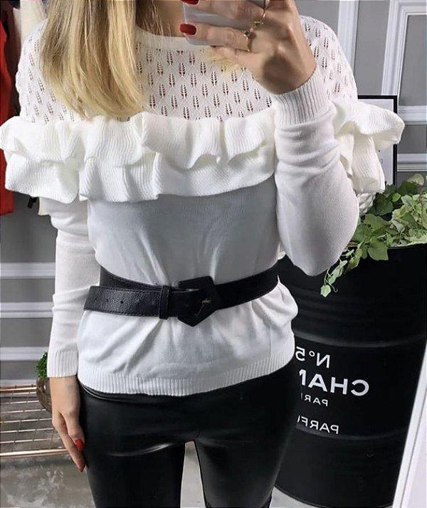 Blusa em tricot