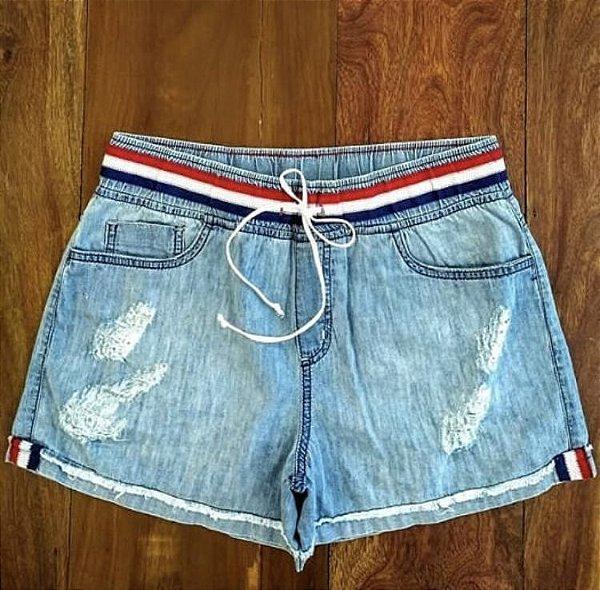 Short boxer jeans