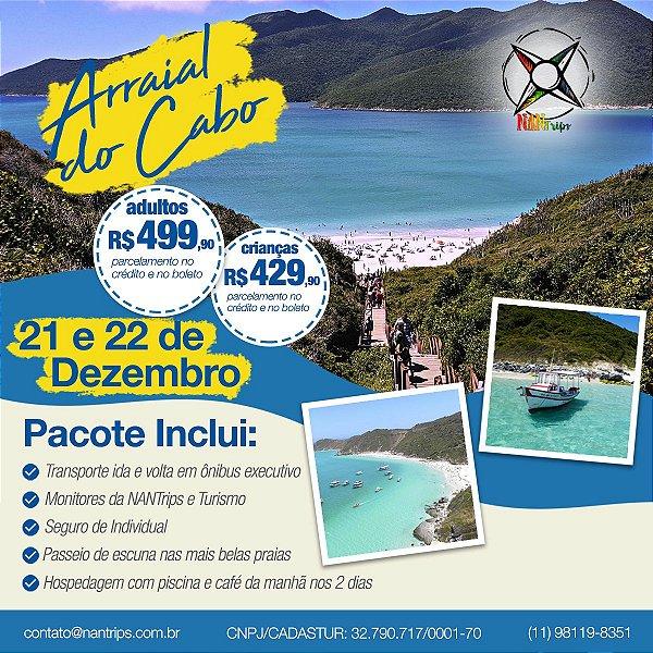 Arraial do Cabo | RJ - 21 e 22/12/2019