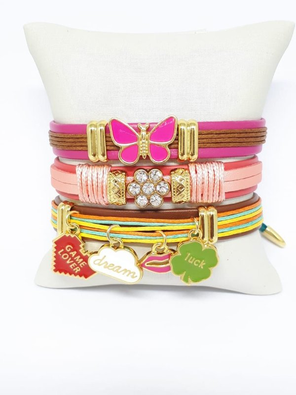 Conjunto de pulseiras infantil