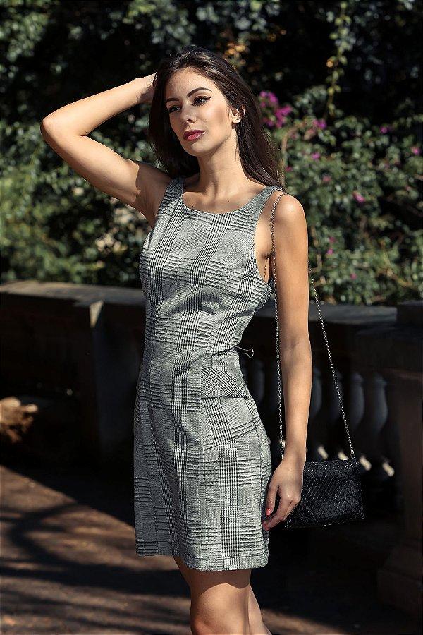 Vestido Dafna Xadrez