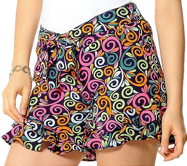 Shorts Gisele Roxo