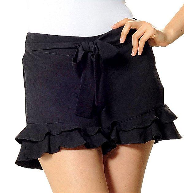 Shorts Gisele Preto