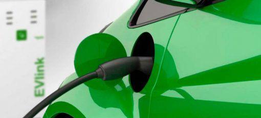Carregador Carro Elétrico Evlink Parking 2 tomadas 22 kW – Parede
