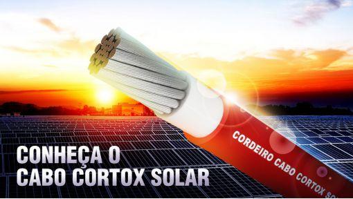 Cabo solar 4mm² 1KV Vermelho