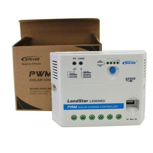 Controlador de Carga Landstar LS3024EU 30A 12/24V