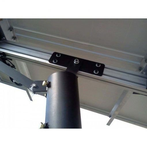 Suporte com Poste para Paineis Fotovoltaicos Redimax – 2 Painéis de até 150Wp