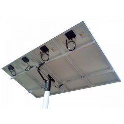 Suporte com Poste para Painéis Fotovoltaicos Redimax – 4 Painéis de até 150Wp ou 2 Painéis de 265Wp