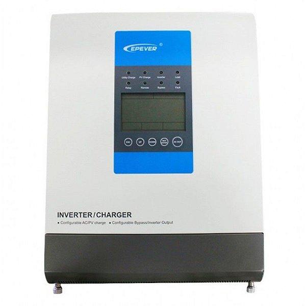 Inversor Híbrido Epever Upower 1500W / 30A MPPT / 24Vcc / 220Vca