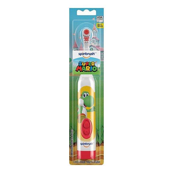 Escova e Dente Elétrica Super Mario