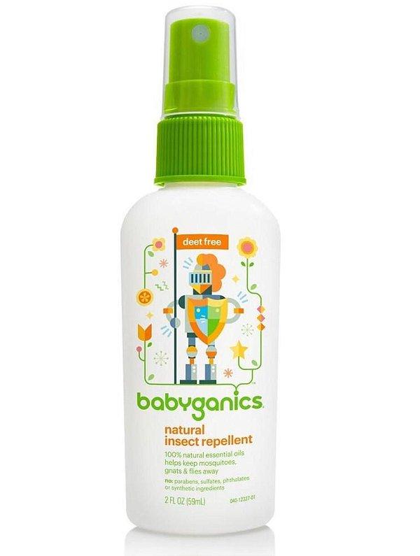 Repelente Infantil Orgânico Spray Babyganics - 59 ML