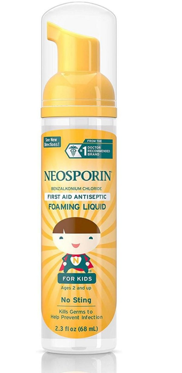 Espuma Anti-Séptica Neosporin (68 mL)