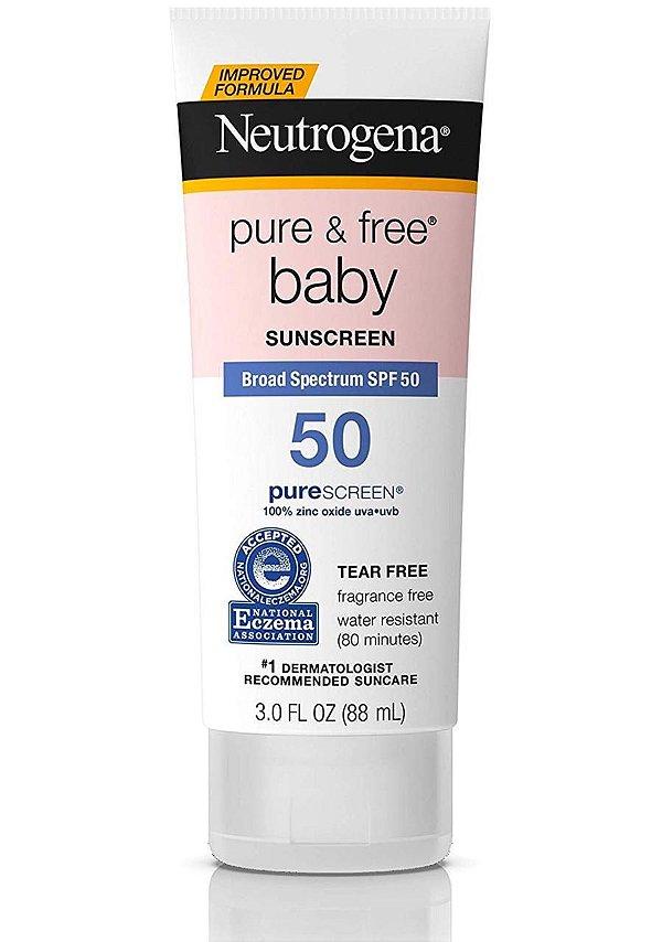 Protetor Solar Neutrogena Baby 50+