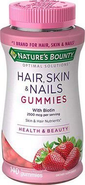 Hair Skin & Nails - 140 Gomas Sabor Morango