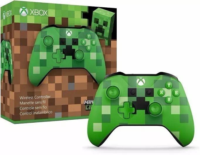 Controle sem fio Xbox – Minecraft