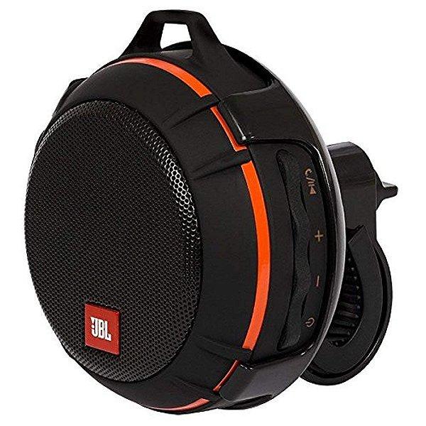 Caixa de Som Bluetooth JBL WIND, Suporte p/ Bikes e Motos