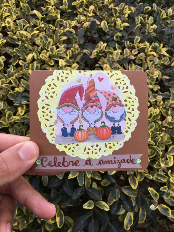 Cartão Mágico Amizade