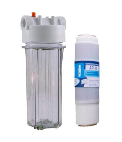 """Filtro Snic Transparente Com Refil AP10 - EF 9 3/4"""" x 2 ½ (10"""")"""