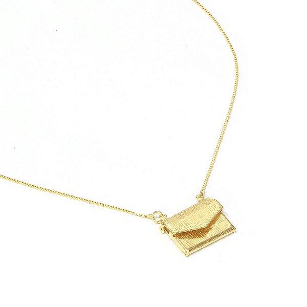 Colar Bag Dourado