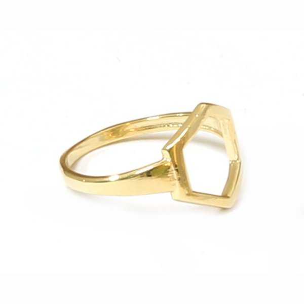 Anel Basic Six Dourado