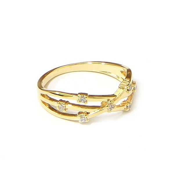 Anel Layer Dourado
