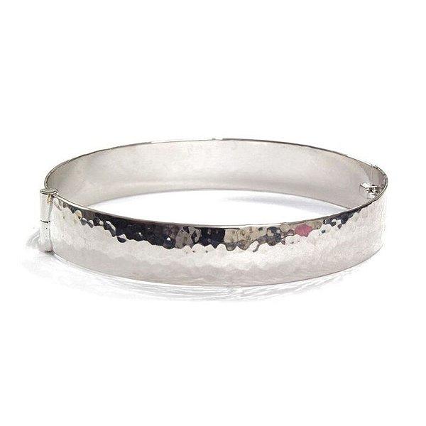 Bracelete Italy Ródio Branco
