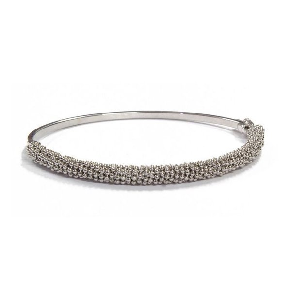 Bracelete Veneza Ródio Branco