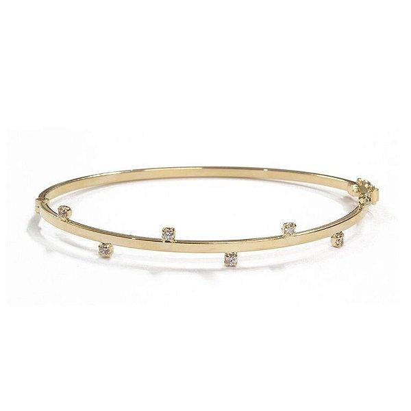Bracelete Nevada Ouro