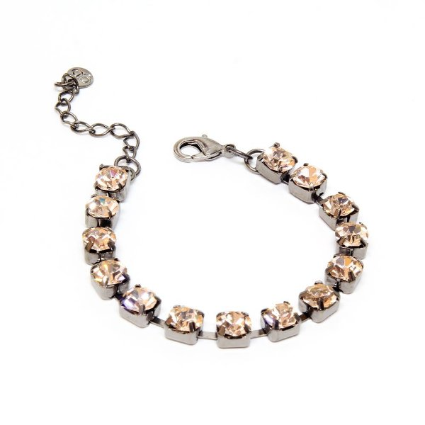 Pulseira Strass Light Peach