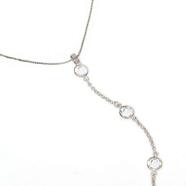 Colar Gravata Tiffany
