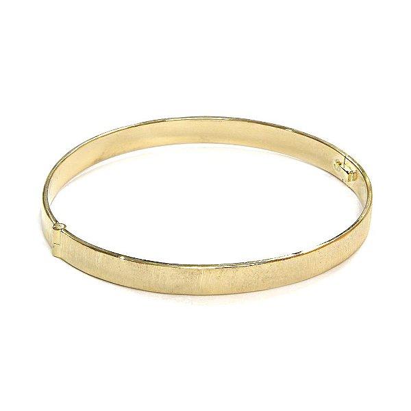 Bracelete Sintra Dourado Escovado