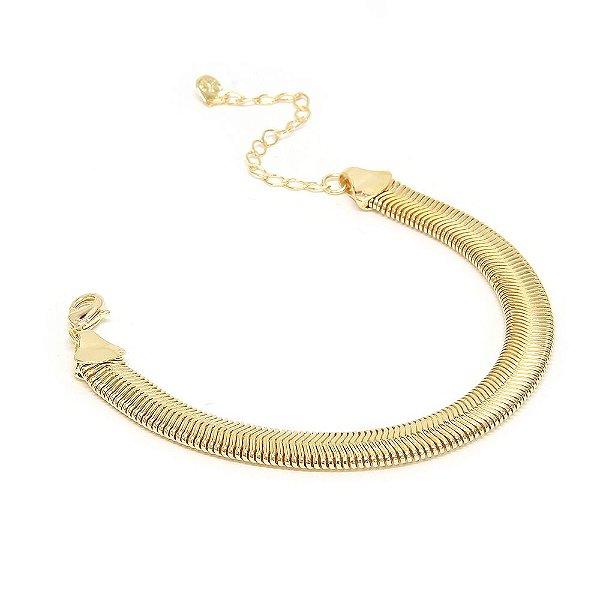 Pulseira Snake Dourado