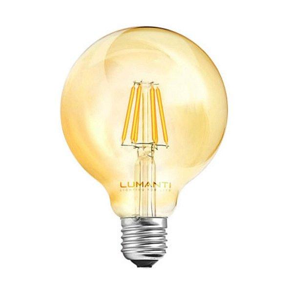 LAMPADA FILAMENTO LED GLOBO 4W E27 2,4K