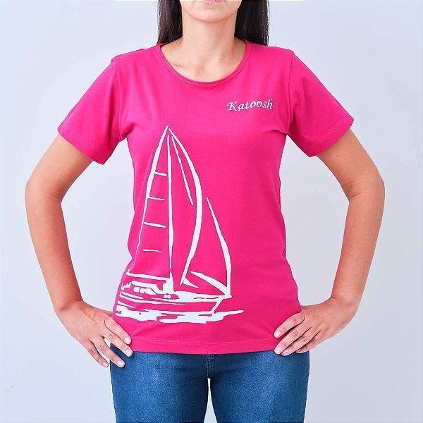 Camiseta -TRIPULAÇÃO- Rosa