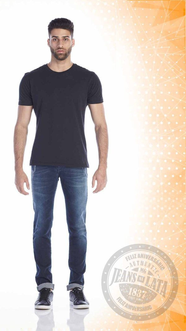 Calça Jeans Masculina Skinny Ref. 10508