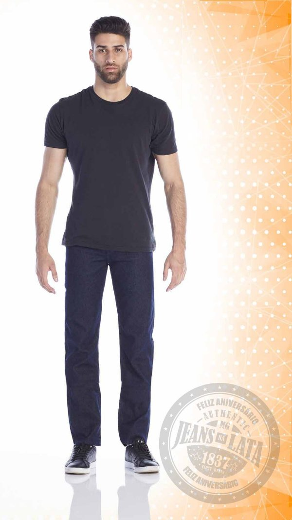 Calça Jeans Masculina Tradicional Ref. 10513