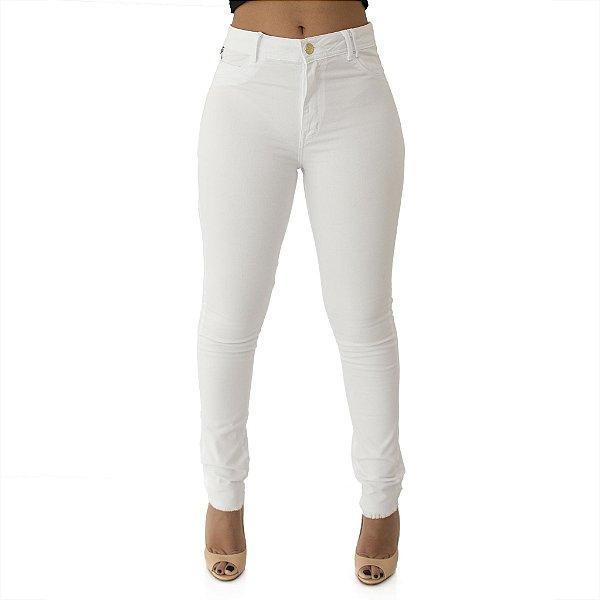 Calça Jeans Feminina Cigarret Cós Alto Up Ref. 4650
