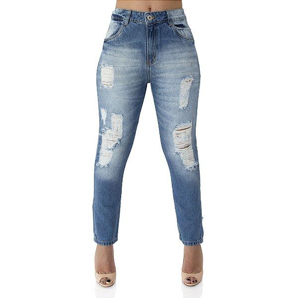 Calça Jeans Feminina Cigarret Girl Friend Ref. 4664