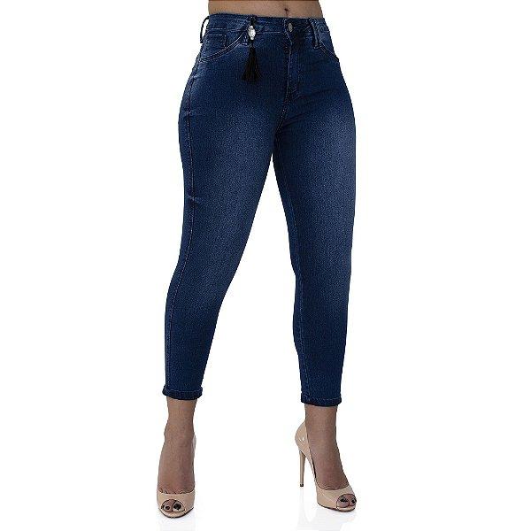 Calça Jeans Feminina Skinny Cós Médio Ref. 4659