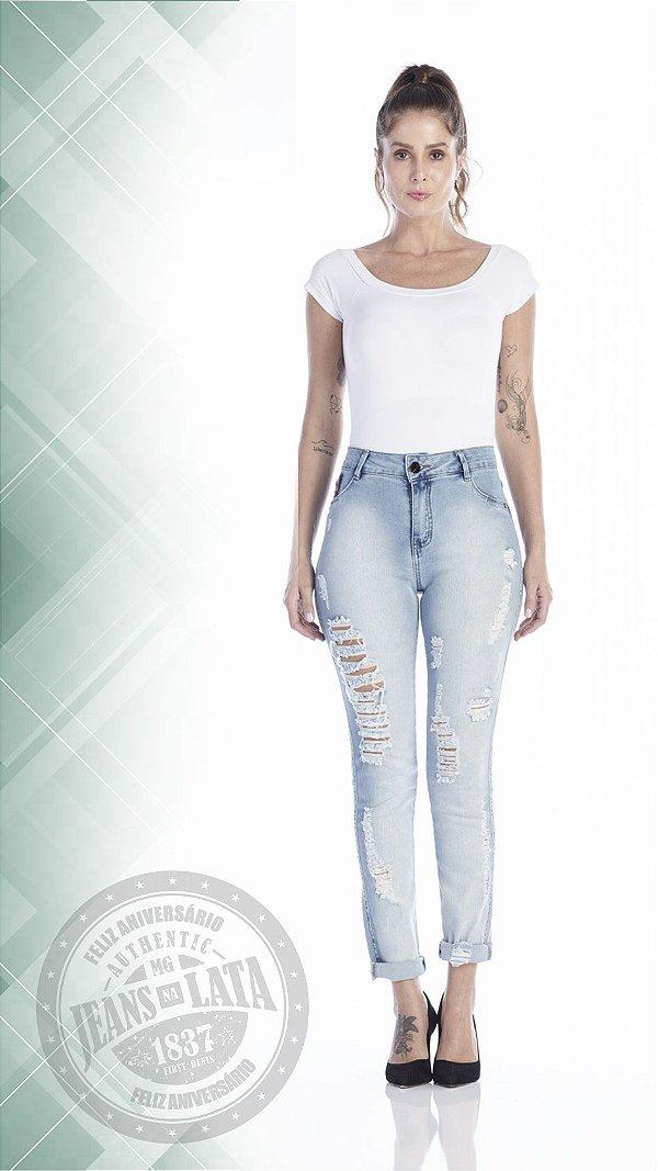 Calça Jeans Feminina Cigarret ref.4654