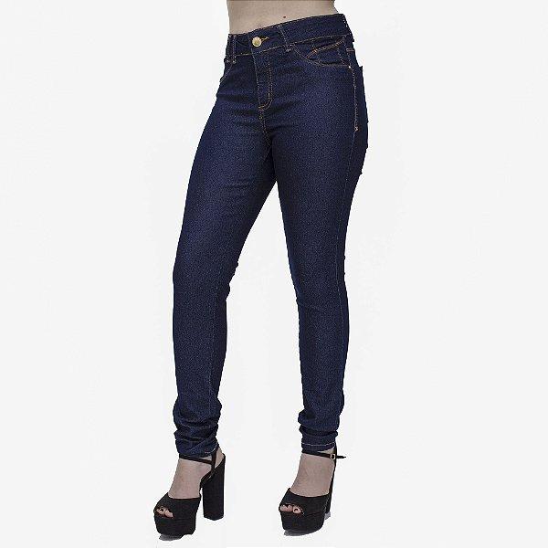 Calça Jeans Feminina Skinny Cós Alto Ref. 4717