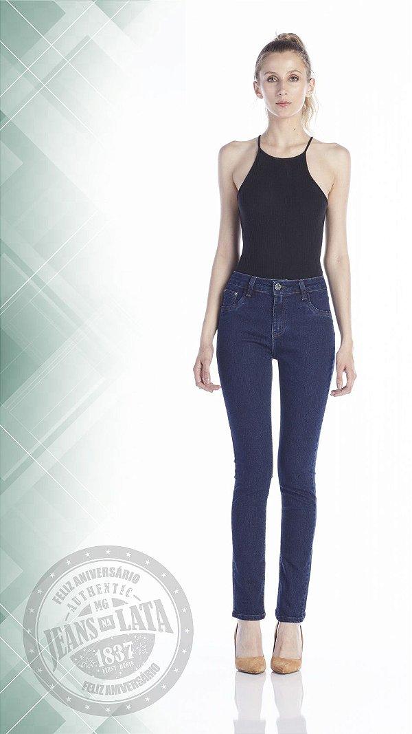 Calça Jeans Feminina skinny Cós Alto Ref. 4641