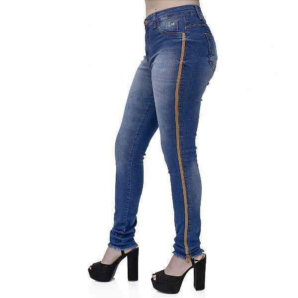 Calça Jeans Feminina Skinny Cós Alto ref. 4726