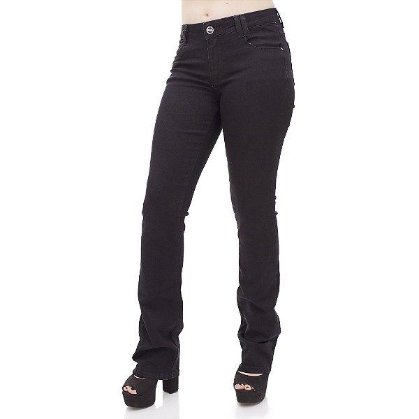 Calça Jeans Feminina Flare Ref. 4675