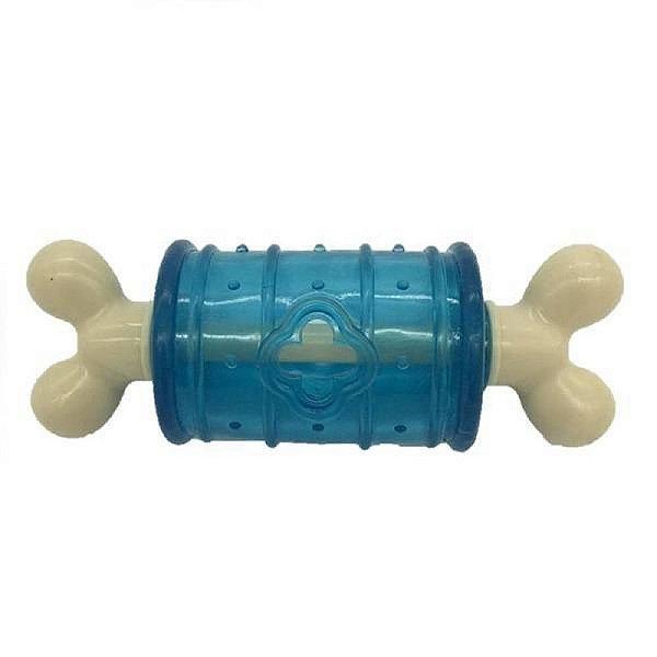 Osso Petwi Nylon e Silicone Funny Azul